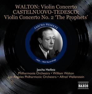 Walton - Heifetz - Naxos